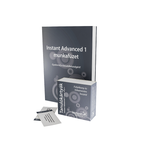 Instant Advanced 1 Tanulókártyák (angol-magyar)