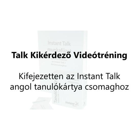 Talk 1 Kikérdező