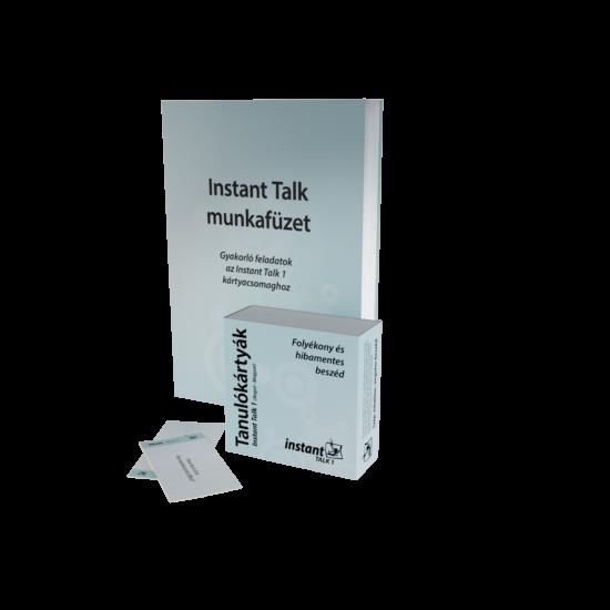 Instant Talk 1 Tanulókártyák (angol-magyar)