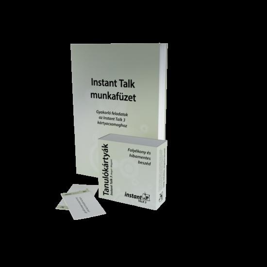 Instant Talk 3 Tanulókártyák (angol-magyar)