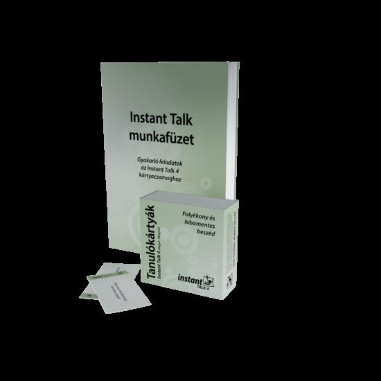 Instant Talk 4 Tanulókártyák (angol-magyar)