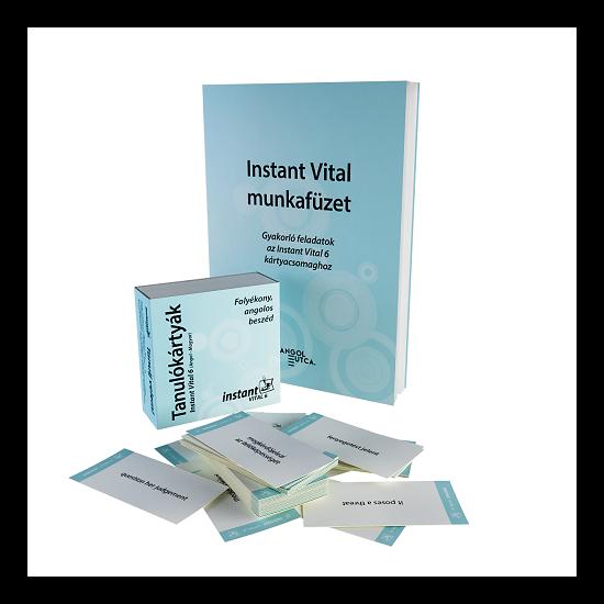 Instant Vital 6 Tanulókártyák (angol-magyar)