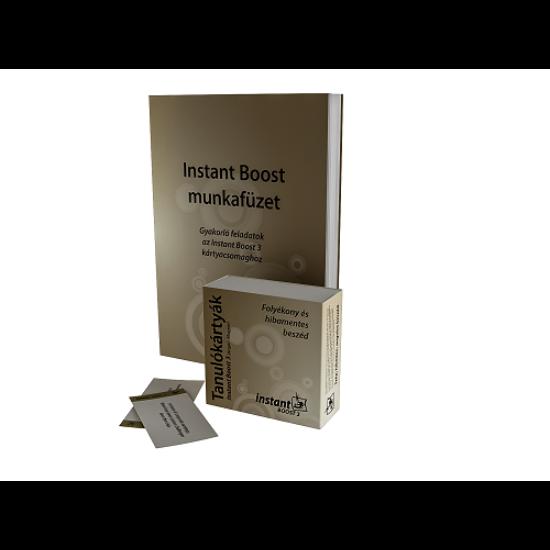 Instant Boost 3 Tanulókártyák (angol-magyar)