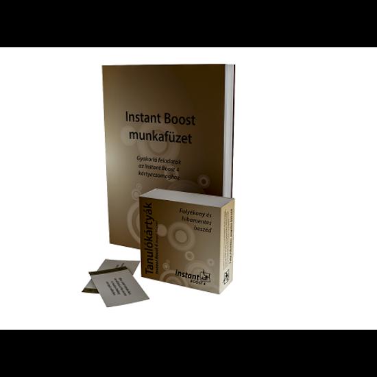 Instant Boost 4 Tanulókártyák (angol-magyar)