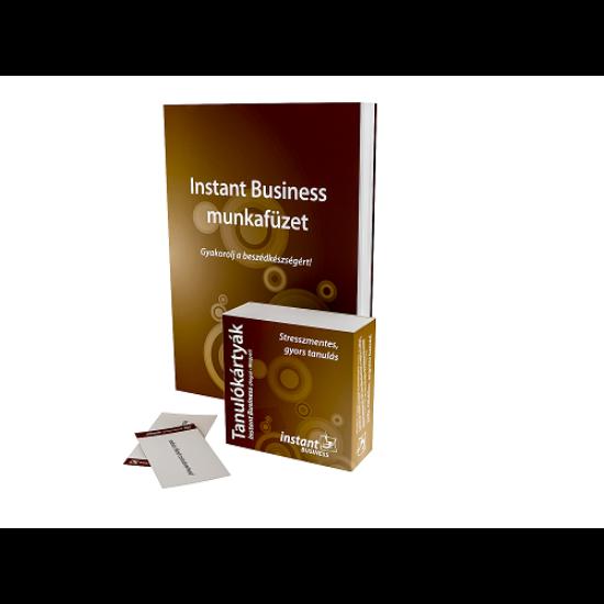Instant Business Tanulókártyák (angol-magyar)