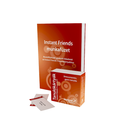 Instant Friends 3 Tanulókártyák (angol-magyar)