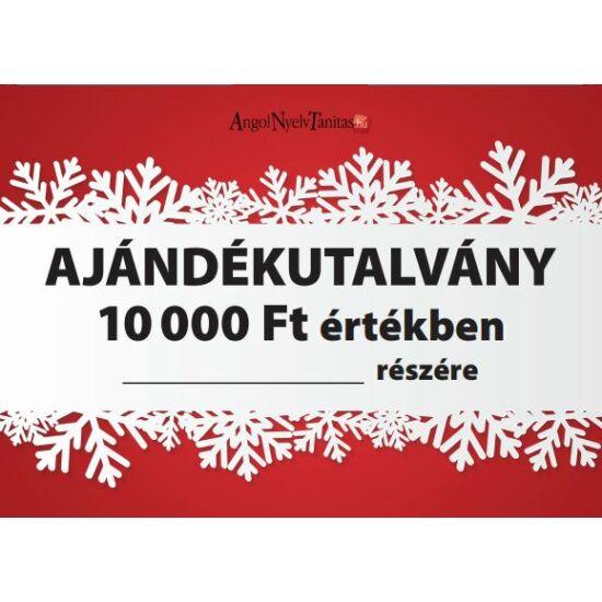 10 000 Ft-os ajándékutalvány