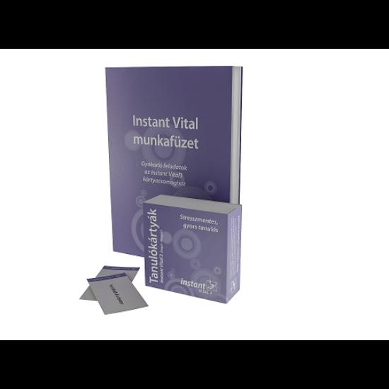 Instant Vital 3 Tanulókártyák (angol-magyar)