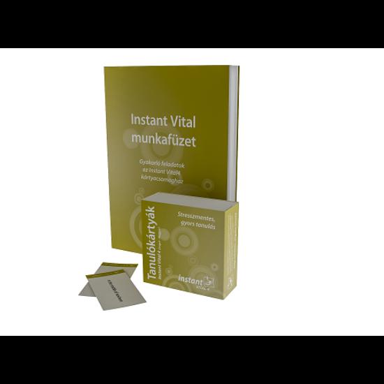 Instant Vital 4 Tanulókártyák (angol-magyar)